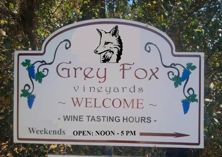 Welcome to the Grey Fox Vineyards & Tasting Room.