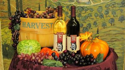 A Fall Harvest Basket of Wine...